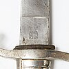 A latter half of the 19th century briquet short sword.