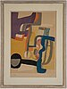 Maurice estÈve, lithograph in colors, 1952, signed and numbered epreuve d'artiste viii/x.