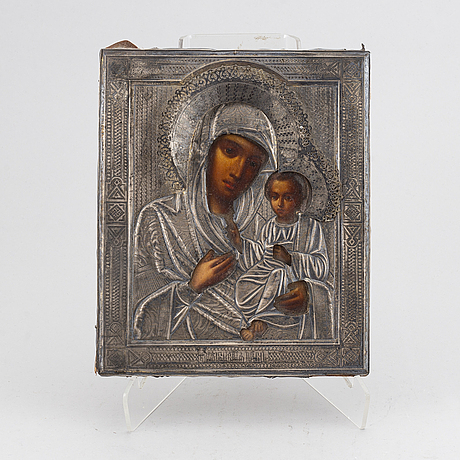 A russian icon, st petersburg before 1899.