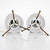 Ilmari tapiovaara, a pair of  'maija the bee' table lamps for  asko/hienoteräs.