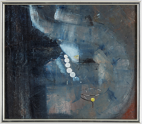 Anders samuelsson, oil on canvas, 2, signed.