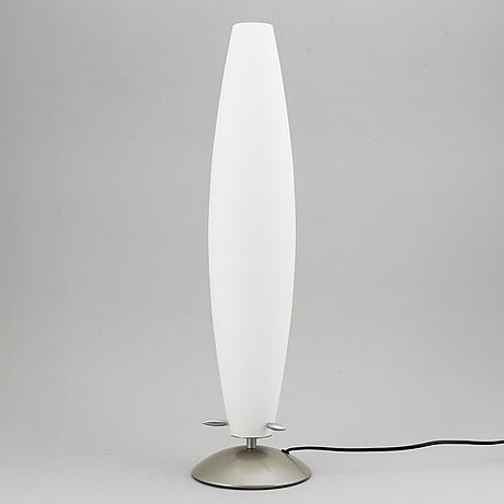 A vetri murano, italy table lamp.