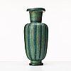 "Wilhelm kåge, a ""farsta"" stoneware vase, gustavsberg studio, sweden 1940-50's."