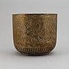 Ytterfoder, förgylld mässing, orientalisk, omkring år 1900.