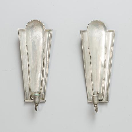VÄgglampetter, ett par, taidetakomo antti hakkarainen 1930-tal.