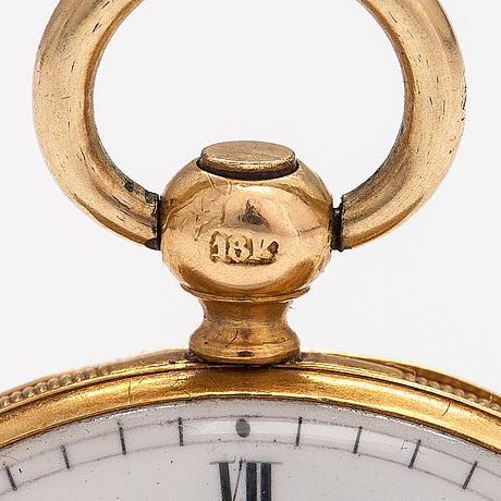 Pocket watch, 33 mm.