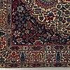 A rug, semi-antique kerman, ca 217,5 x 137 cm.
