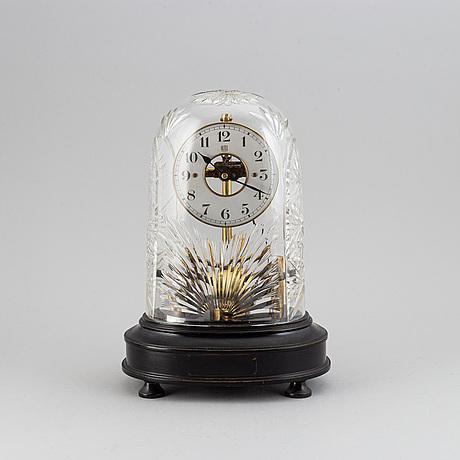 A bulle patent table clock, circa 1900.