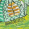 Uno vallman, oil on canvas, signed.