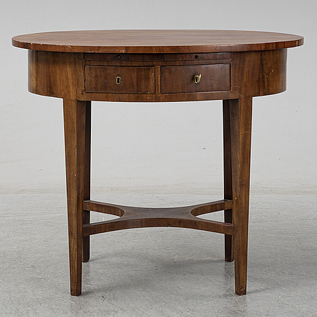 A 19th century maogany table.