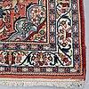 A carpet, old mahal/sarouk, ca 313 x 133 cm.