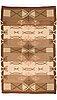 Laila karttunen, a 19240's finnish flat weave carpet. circa 345x220 cm.