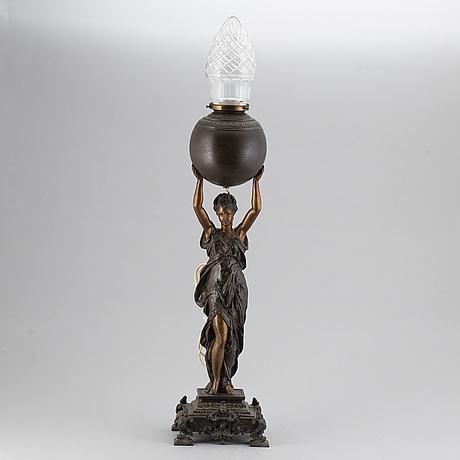 Bordslampa, omkring 1900.