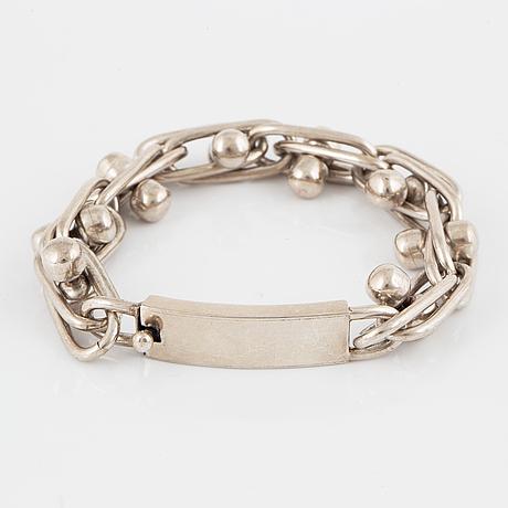 Silver bracelet, mexico.