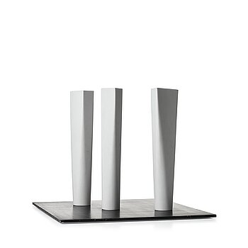 Gert Marcus. Signed GM and nunbered 1/3. Marble and base in acrylic.