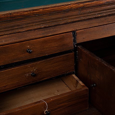 A 1700's cabinet.