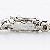 Tennisarmband, 18k vitguld m 38 briljanter ca 1,5 ct totalt tw vs, enligt intyg mk juvel malmö.