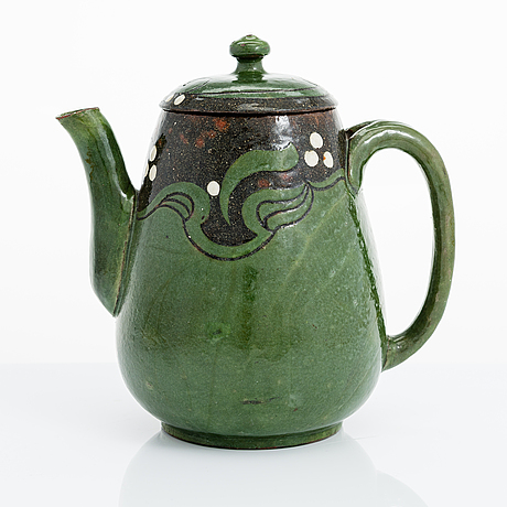 Alfred william finch, a coffee pot around 1900 by iris finland.