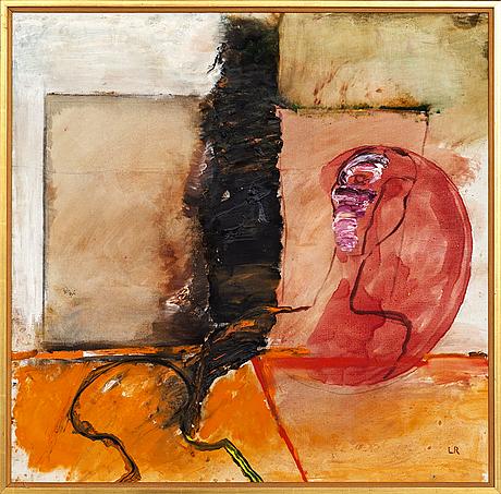 Lillemor rudolf-hall, oil on canvas signed.