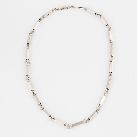 Wiwen nilsson, silver necklace.