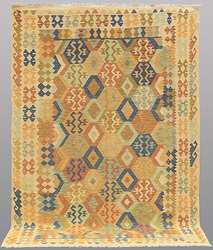 Matto, kilim, ca 293 x 201 cm.