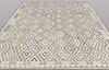 A carpet, kilim, ca 369 x 280 cm.