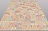 A carpet, kilim, ca 290 x 206 cm.