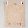 A ceramic wallplate by renate rhein for rosenthal.