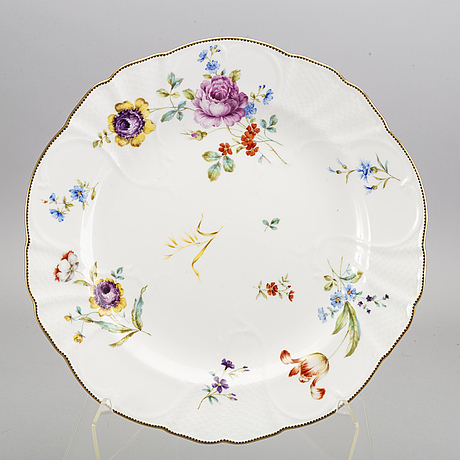 A swedish  109 pcs 1880's rörstrand porcelain service.