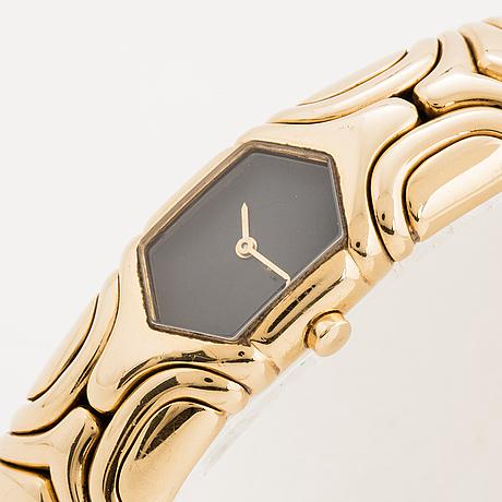 "Bvlgari, wristwatch ""alveare"", 16 mm."