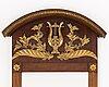 Spegel med konsolbord, jonas frisk (spegelfabrikör i stockholm 1805-1824). empire, 1800-talets början.