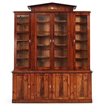 5. A Swedish Empire bookcabinet.
