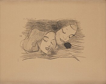 """507. Helene Schjerfbeck, """"The picture book""""."""