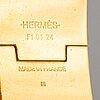 HermÈs, a 'clic h' bangle.