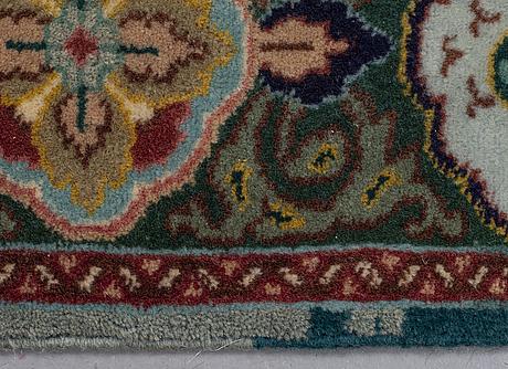 A rug, old tabris, ca 147 x 102 cm.
