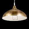 A mid 20th century pendant light for itsu finland.