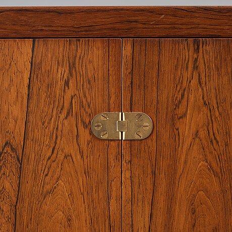 Børge mogensen, a rosewood sideboard, a/s fredericia stolefabrik, denmark 1950-60's.
