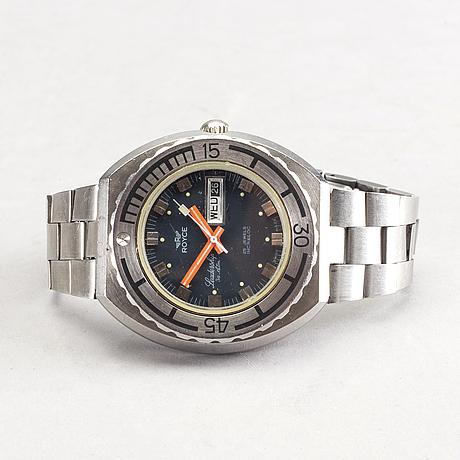 Royce, leadership automatic, wristwatch,