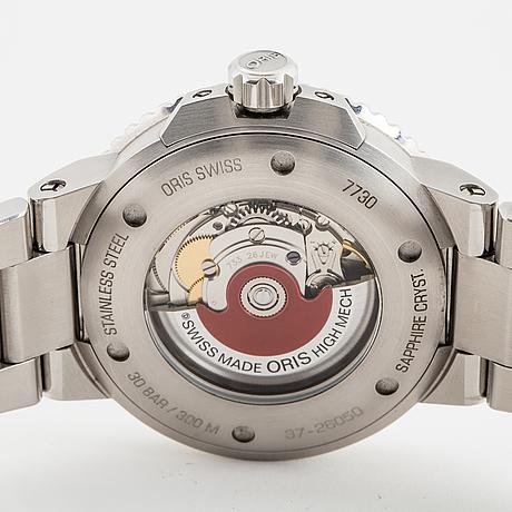 Oris, aquis date, wristwatch, 43 mm.