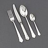 "A 48-piece set of ""chippendale"" silver flatware, gab, stockholm, 1960s-1990s."