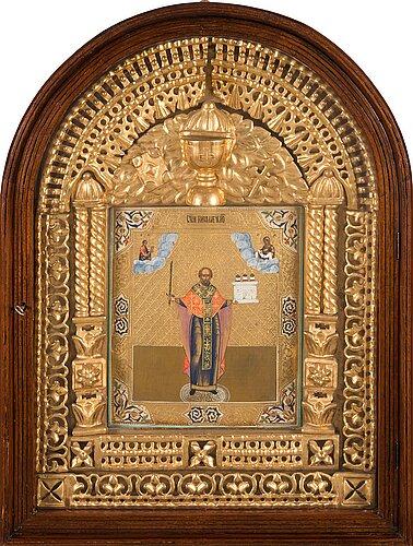 Ikoni, russian icon in kiot.
