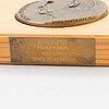 Mitaleja,9 kpl, pronssia, signeeratut ja päivätyt, kultateollisuus.