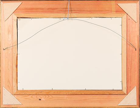Eero nelimarkka, oil on panel, signed and dated -42.