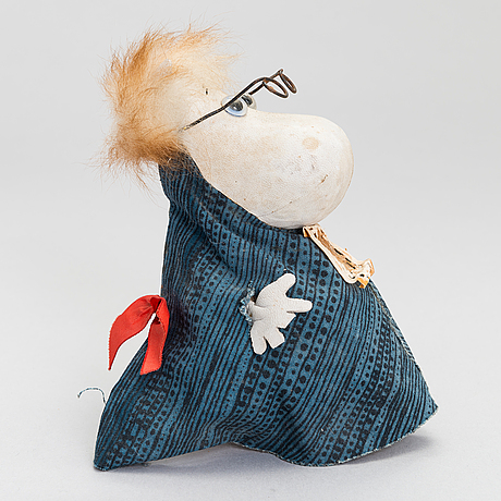Moomin character by atelier fauni, suomi, 1950s/60s.