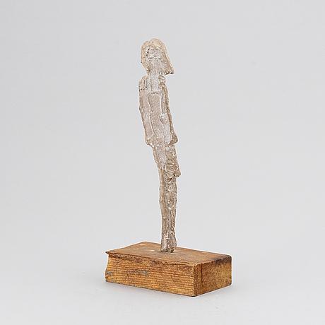 Evert lindfors, sculpture, signed.