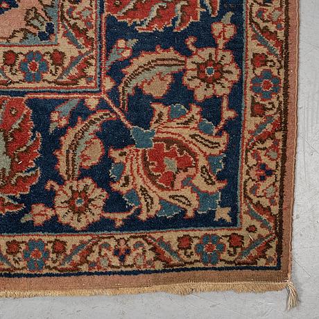 A carpet, tabriz possibly, ca 357 x 253 cm.
