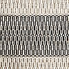 Two flat weave rugs, ca 180 x 120 cm.