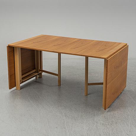 Bruno mathsson, 'maria flap', table, bruno mathsson international.