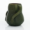 Alfred william finch, a vase signed a.w.f.