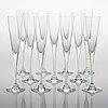 Heikki orvola, a 51-piece set of 'aurora' glassware for iittala.